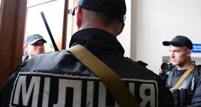 Ukraińscy milicjanci