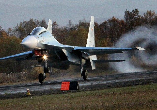 Wielozadaniowy Su-30 M2 fighter jet