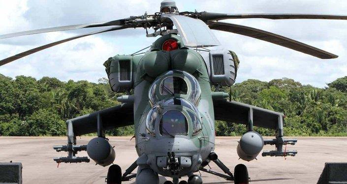 Pierwsza dostawa śmigłowców Mi-35M dostarczonych do Brazylii