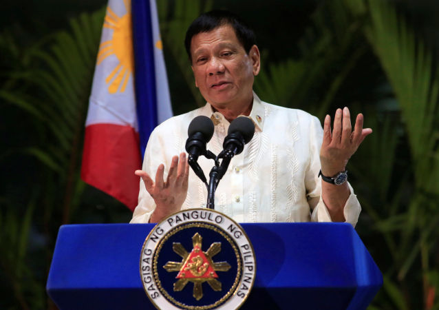 Prezydent Filipin Rodrigo Duterte w Tajlandii
