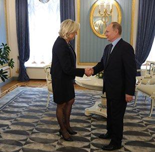 Putin i Le Pen