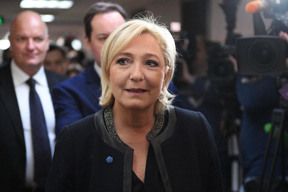 Liderka Frontu Narodowego i kandydatka na prezydenta Francji Marine Le Pen odwiedziła Dumę Państwową Federacji Rosyjskiej.