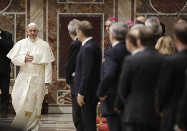 Papież Franciszek spotkał się w piątek z przywódcami Unii Europejskiej i szefami instytucji unijnych