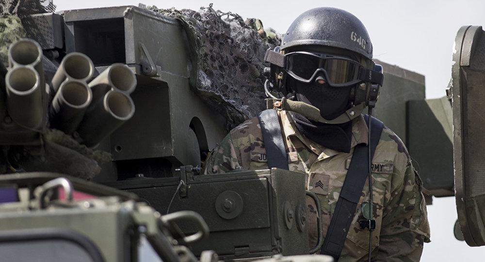 Międzynarodowy konwój sił NATO dotarł do Polski
