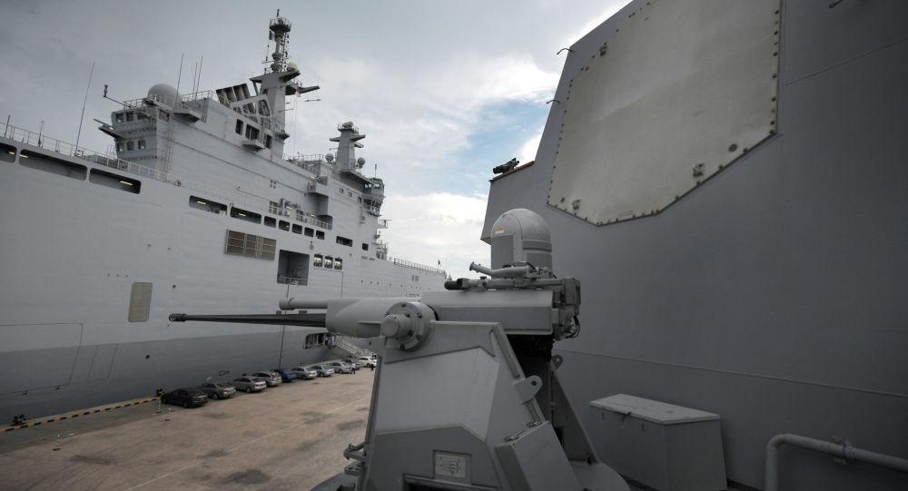 System Aegis na pokładzie amerykańskiego okrętu