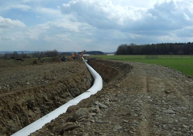 Gazociąg OPAL, Niemcy