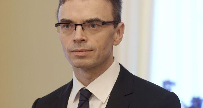 Minister spraw zagranicznych Estonii Sven Mikser