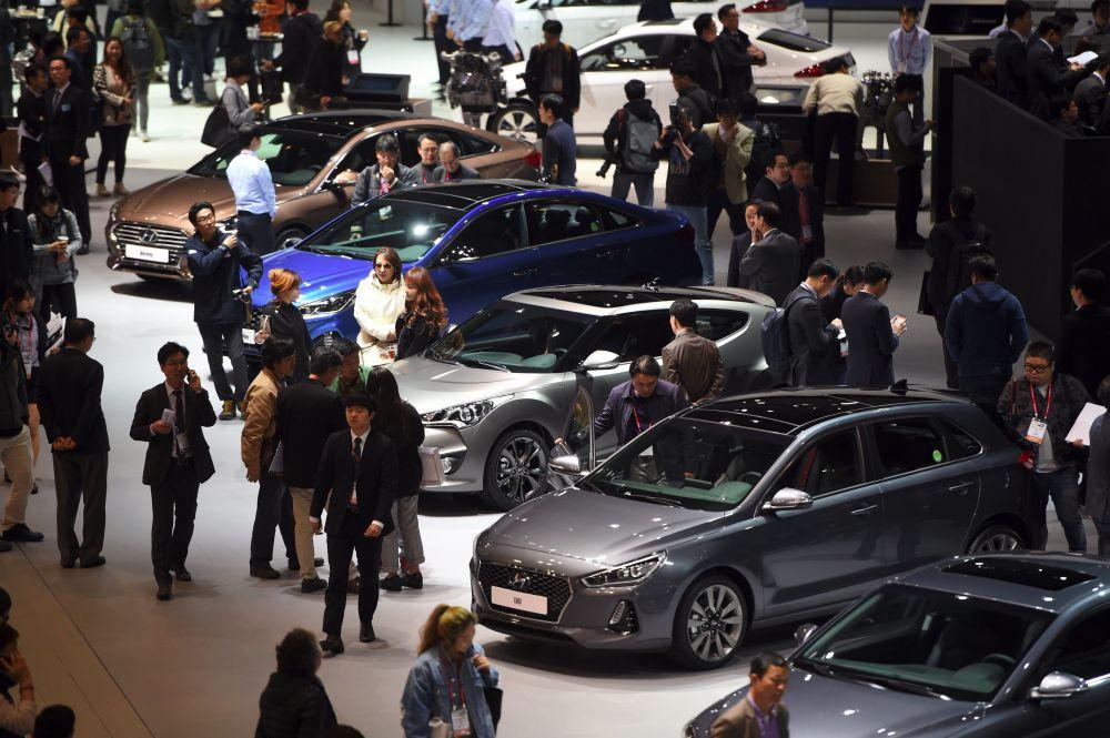 Międzynarodowe Targi Motoryzacyjne w Seulu