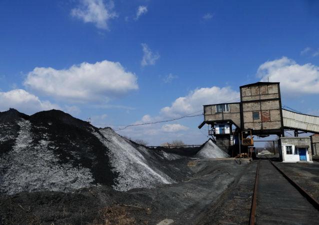 Kopalnia węgla Kalinowskaja-Wostocznaja w DRL