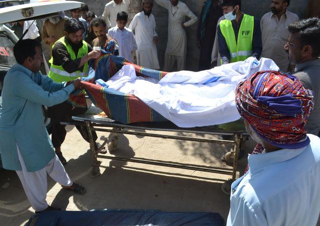 Ofiara morderstwa w Sargodha, Pakistan