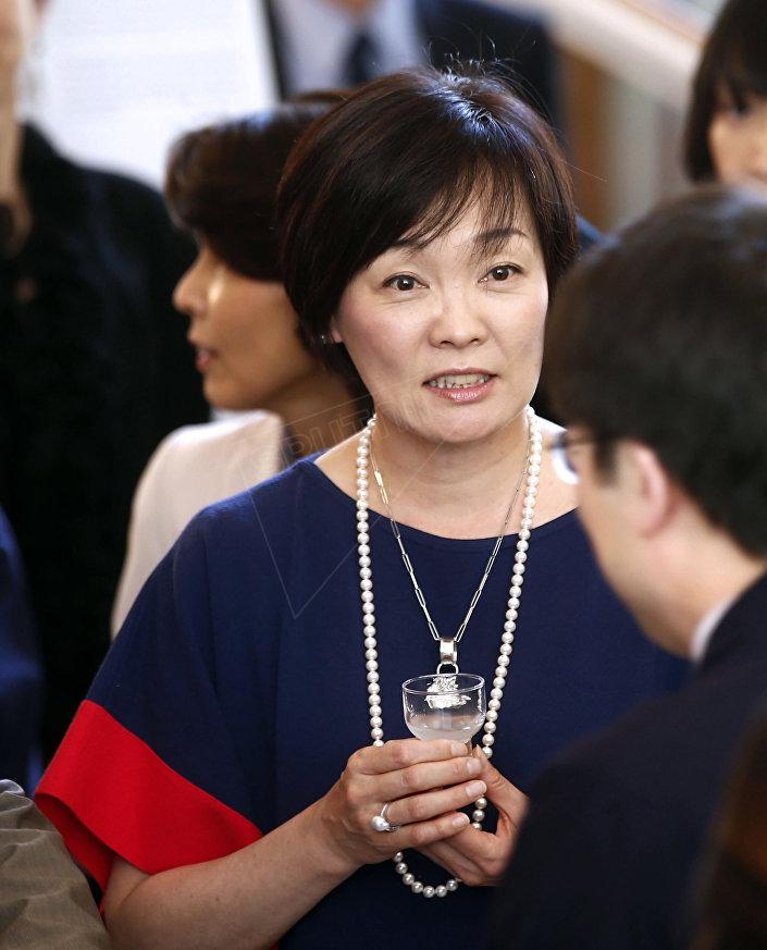 Żona premiera Japonii Shinzo Abe Akie Abe