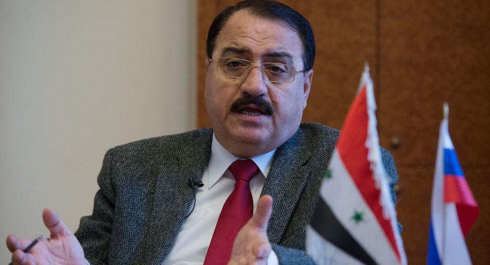 Ambasador Syrii w Rosji Riyad Haddad