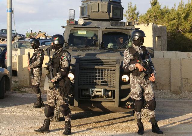 Siły bezpieczeństwa w Jordanii