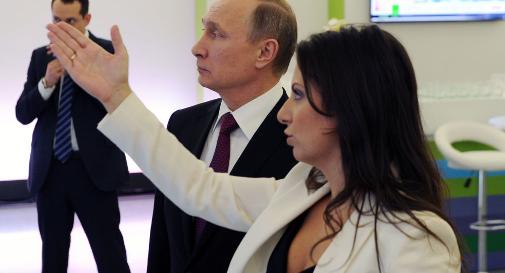 Wizyta prezydenta Rosji Władimira Putina w siedzibie telewizji RT