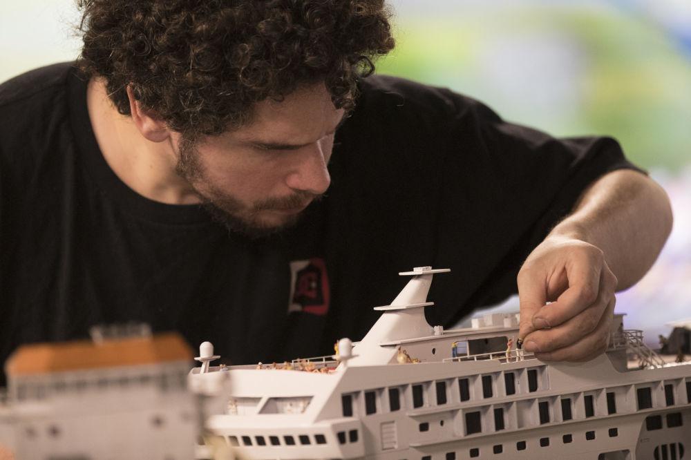 Statek wycieczkowy.