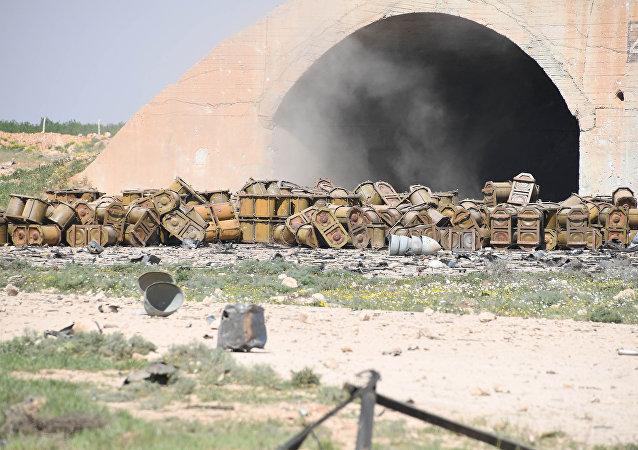Skutki ataku rakietowego USA na Syrię