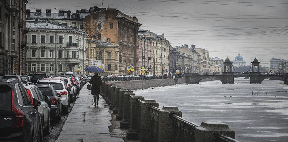 Sobór Świętej Trójcy w Petersburgu.