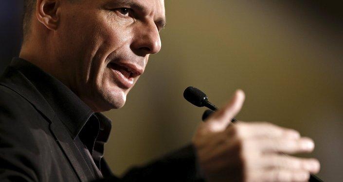 Minister Finansów Grecji Yanis Varoufakis