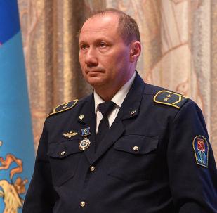 Aleksander Kawerin, maszynista w petersburskim metrze