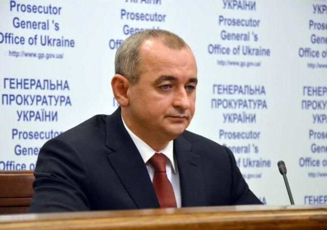 Prokurator wojskowy Ukrainy Anatolii Matios