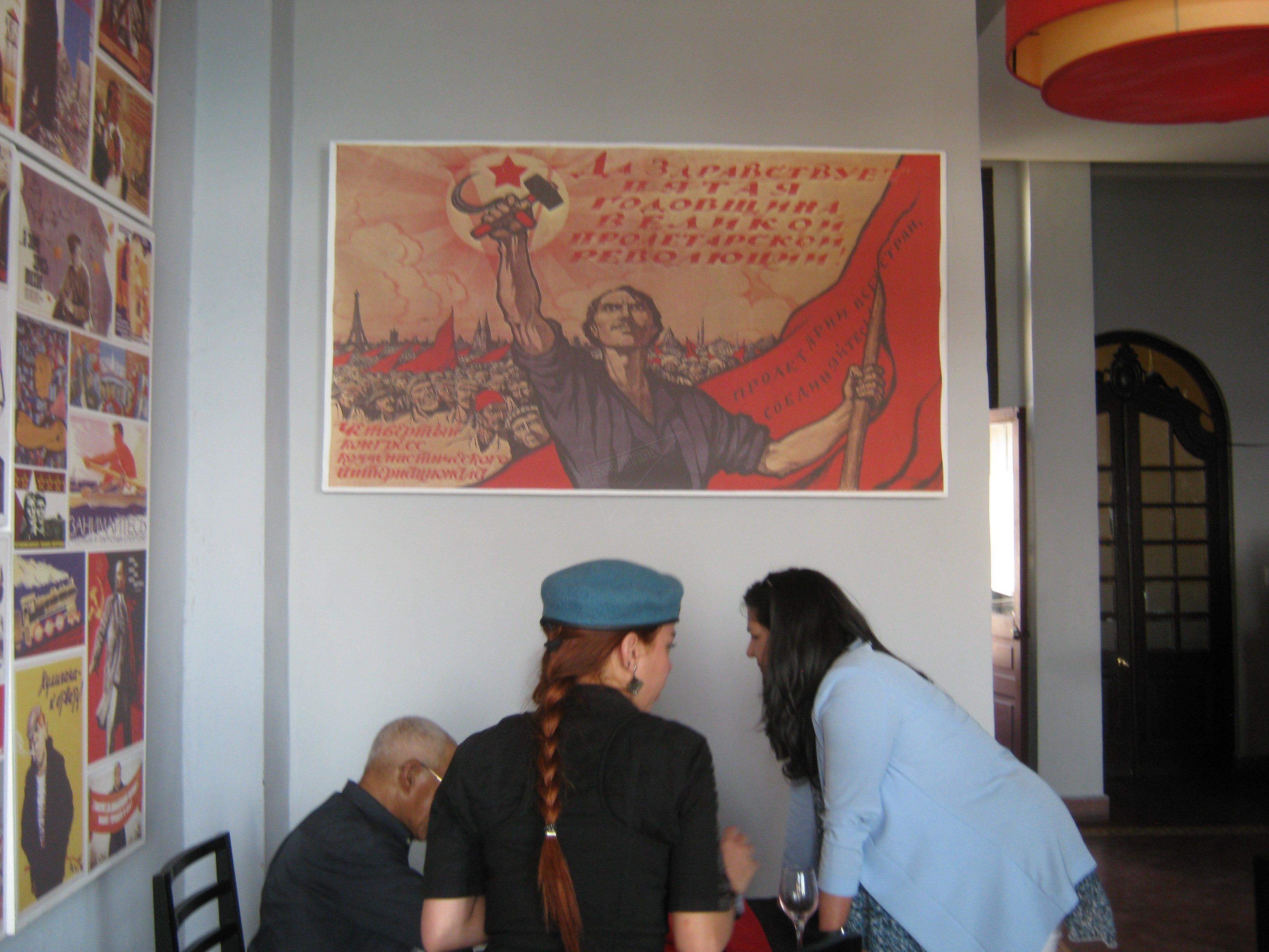 Radziecka restauracja Nazdarovie w Hawanie