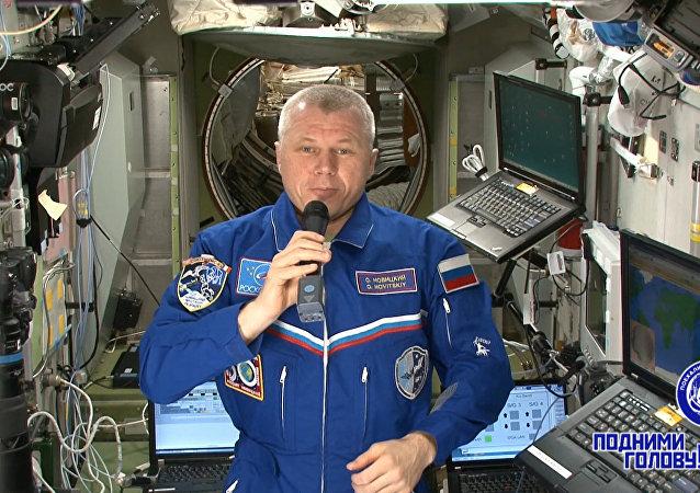 Życzenia z kosmosu z okazji Dnia Kosmonautyki