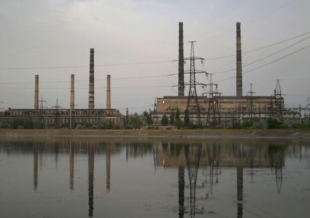 Słowiańska elektrociepłownia w obwodzie donieckim