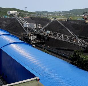 Wagon z węglem z Władywostoku
