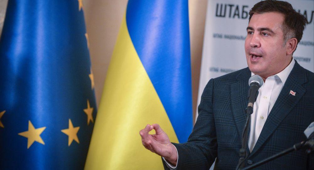 Były prezydent Gruzji Michaił Saakaszwili