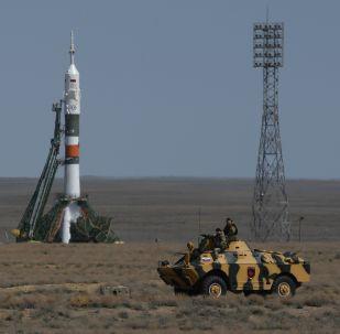 Sojuz FG na Bajkonurze