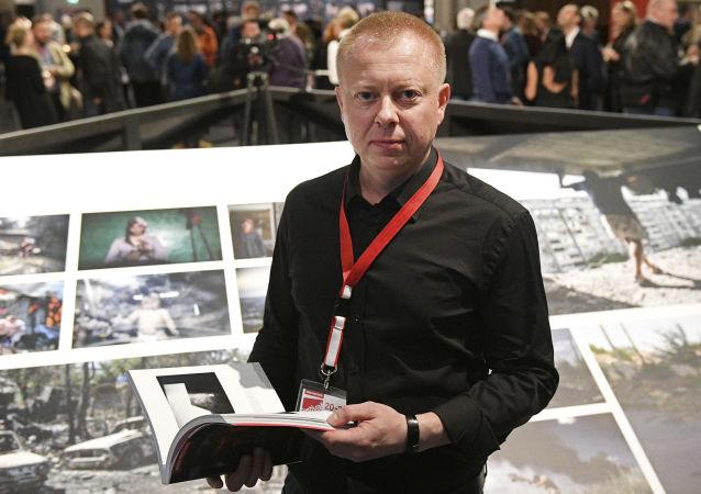 Fotoreporter MIA Rossija Segodnia Walerij Mielnikow
