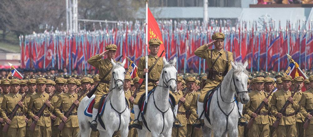Obchody 105. rocznicy urodzin Kim Ir Sena