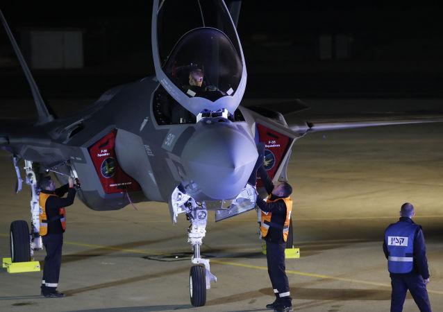 Myśliwiec F-35 kupiony przez Izrael od USA