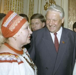 Wizyta Borysa Jelcyna w USA