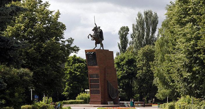 Pomnik Wasilija Czapajewa w Czeboksarach