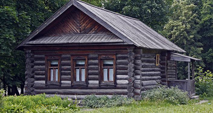 Dom, w którym urodził się Wasilij Czapajew