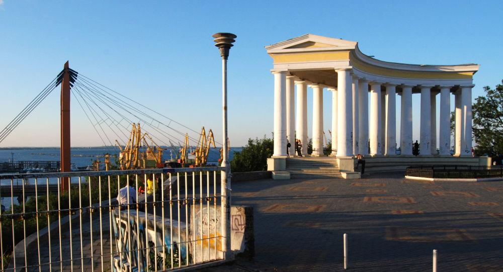 Bulwar Nadmorski w Odessie