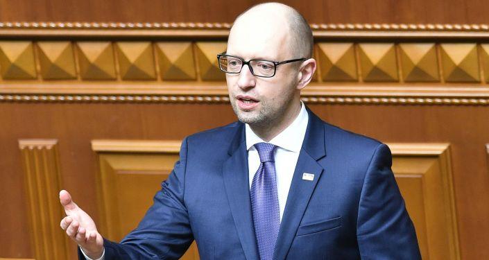 Były premier Ukrainy Arsenij Jaceniuk