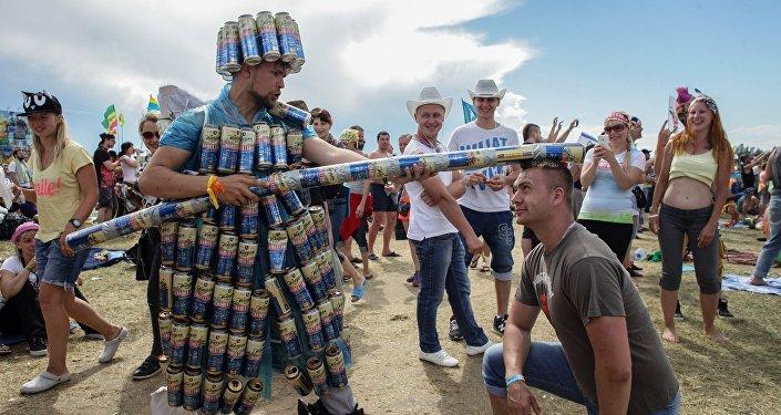 Festiwal muzyczny w Rosji Nashestvie