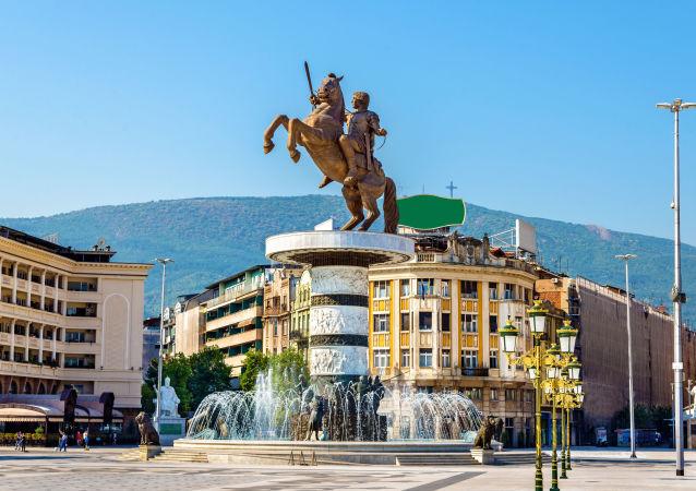 Skopje, stolica Macedonii