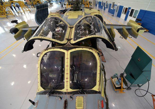 Montaż Ka-52 Aligator