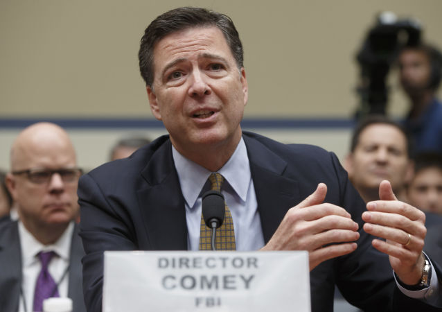 Dyrektor FBI James Comey