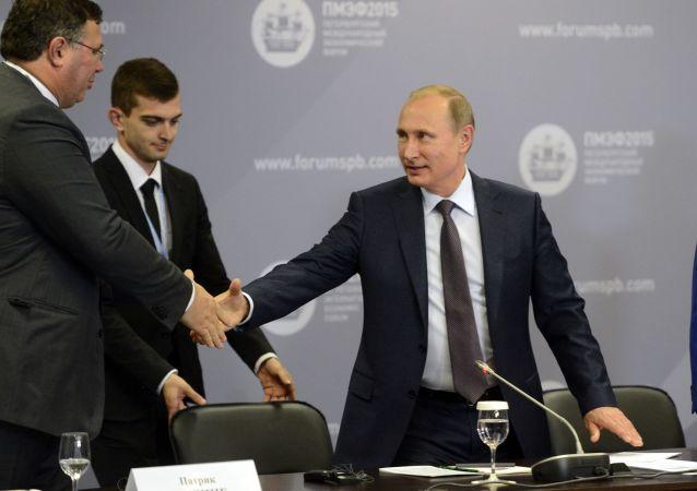 Międzynarodowe Forum Ekonomiczne - 2015 w Petersburgu