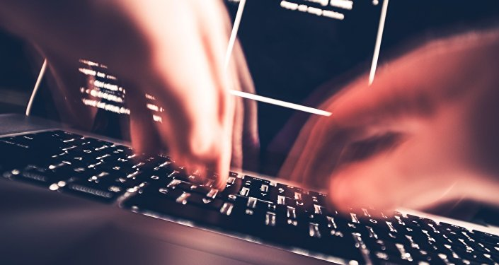 Haker podczas ataku