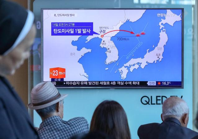 Korea Północna wystrzeliła w niedzielę rano, czasu lokalnego, niezidentyfikowany pocisk balistyczny