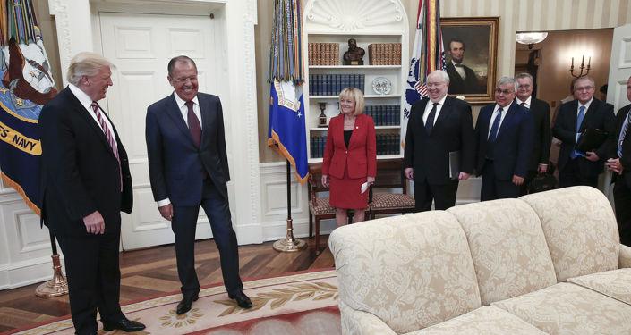 Spotkanie Ławrowa i Trumpa w Waszyngtonie