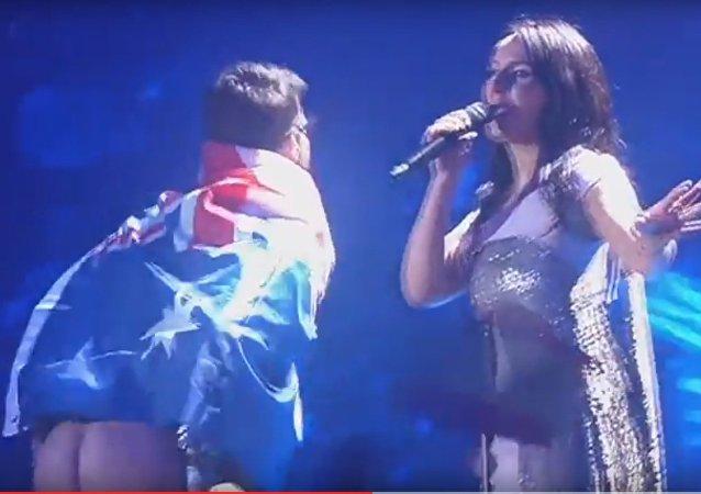 Goła dupa na Eurowizj-2017