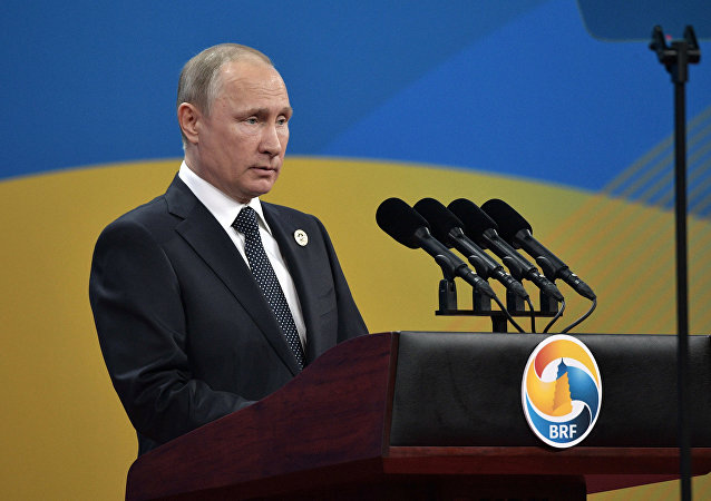 Konferencja prasowa Władimira Putina w Pekinie