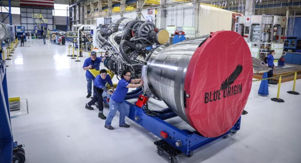Silnik BE-4 Blue Origin
