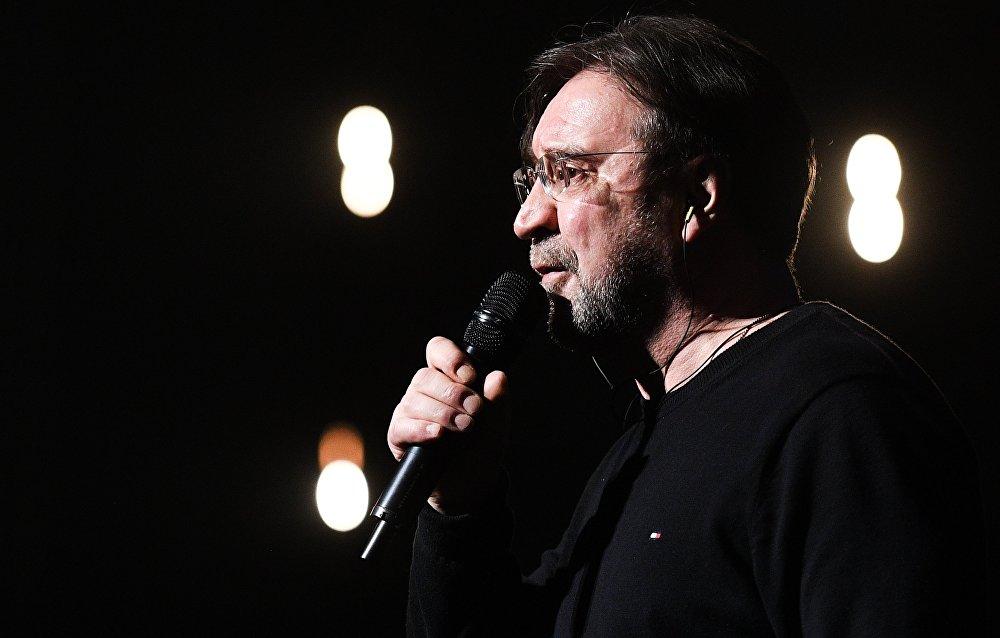 Jurij Szewczuk, lider rosyjskiego zespołu rockowego DDT